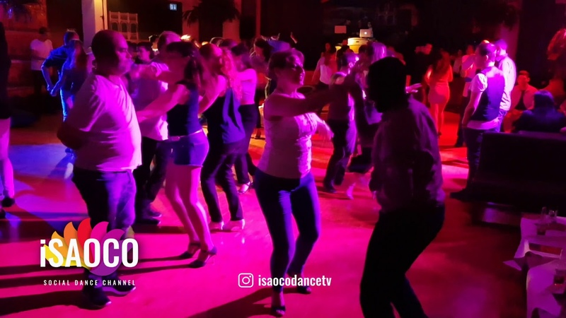 Social Dancing at Salsa Festival Switzerland 2018 in eXtra, Zurich, Fri 23.02.2018 (Mobile Camera)