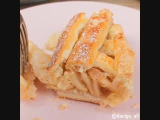 американский яблочный пирог 🍎🍏
