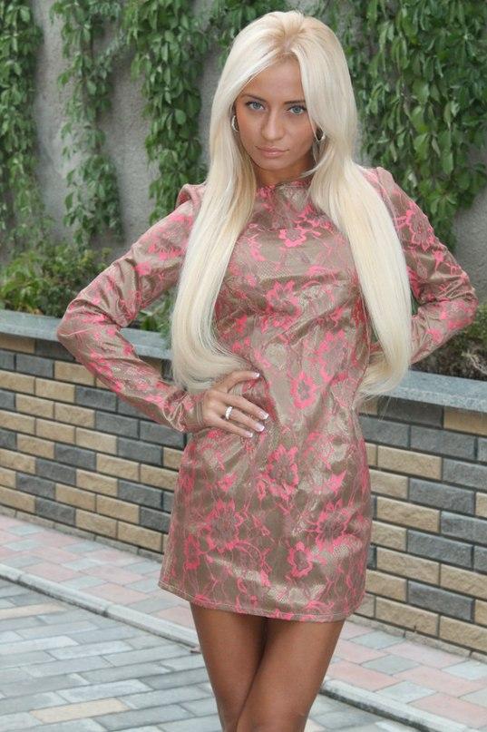 фото украинских девушек блондинок в одежде