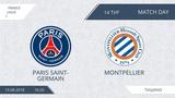 AFL18. France. Ligue 1. Day 14. Paris Saint-Germain - Montpellier
