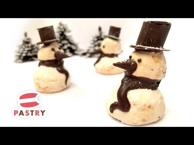 Chocolate Meringue Snowman - Easy Cake Decorations Ideas