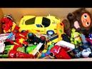Игрушки Большая Коробка Мультики про Машинки Развивающие Мультфильмы для Детей
