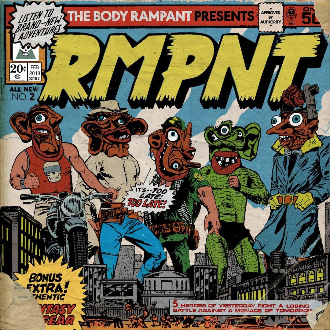 The Body Rampant - RMPNT (2018)