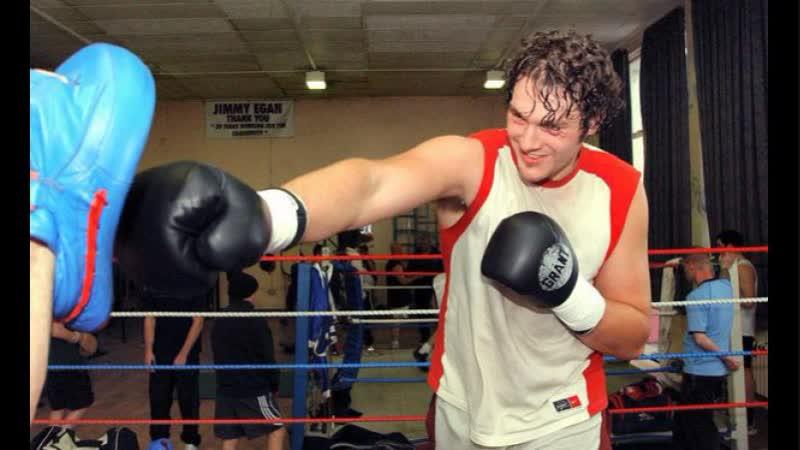 Первый бой Тайсона Фьюри (16 лет) gthdsq ,jq nfqcjyf am.hb (16 ktn)
