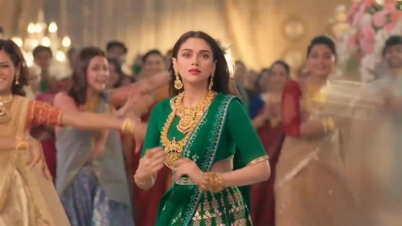 GRT Jewellers Aditi rao hydari Tamil Ad Wedding Celebration Collection 2018 Fu