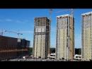 ЖК Эталон-Сити , башни Токио (№1,2,3). Завершают первую по монолиту; активно возводят стены, утепляют-остекляют везде