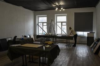 © Татьяна Осипова Подготовка к выставке