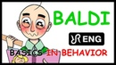BALDI's Basics animatic, Blues remix [Basics in Behavior] ENG song cover