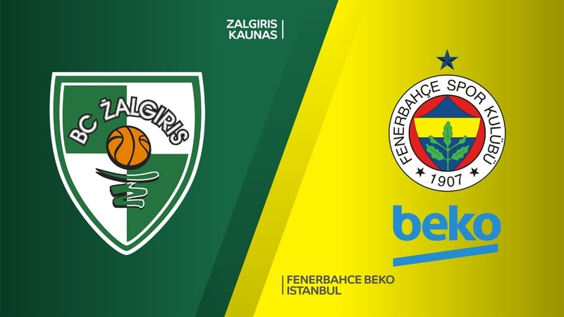 Zalgiris Kaunas - Fenerbahce Beko Istanbul Highlights   Turkish Airlines EuroLeague PO Game 3. Евролига, третий матч плей-офф. Обзор. Жальгирис - Фенербахче