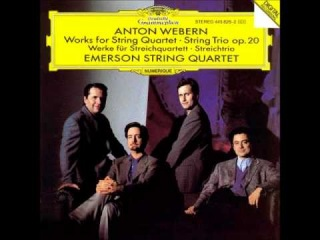 Emerson String Quartet @ WEBERN (4/9) 6 Bagatelles Op.9 (1913)
