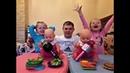 День рождения у Бэби Бон Лолы и Оли Торт Плей До Подарки Baby Born Play Doh