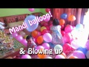 Niala Mandi Balon Meletuskan Balon Dekorasi Ulang Tahun Mainan Anak - Blowing up Balloons Burst