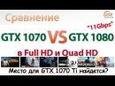 Сравнение GeForce GTX 1070 vs GeForce GTX 1080 11Gbps для игр в Full HD и Quad HD
