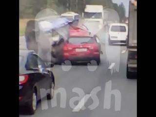 ДТП на Минском шоссе в Подмосковье