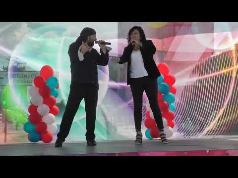 Любовь Алексеева(гр.Иван-чай) и Фил Гинзбург (гр SPADE гр. Phil Ginzburg EXIT LIVE)