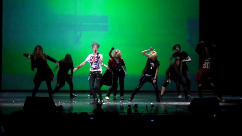 Anicon 2018 Asia-караоке 6 - Миками и La Folie - Crooked (G-Dragon)