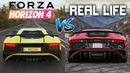 Forza Horizon 4 vs REAL LIFE Engine Sounds Comparison BEST Sounding Cars in the Game