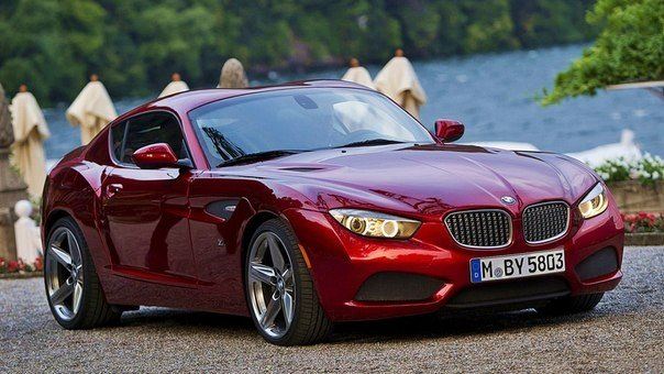 BMW Zagato Coupé - дизайн Zagato