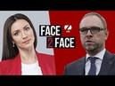 Сергій Власенко, народний депутат, «Батьківщина», у програмі FACE 2 FACE з Тетяною Даниленко