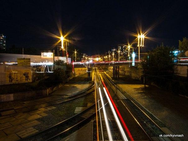 скоростной трамвай киев