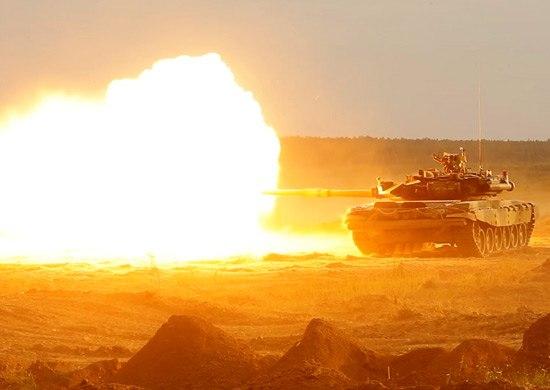 ЮВО: начата активная подготовка к танковому биатлону
