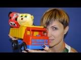 Мультфильм про грузовичок, игрушки Майнкрафт, фрукты и цвета для детей