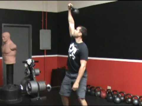 How to do an Overhead Kettlebell Squat