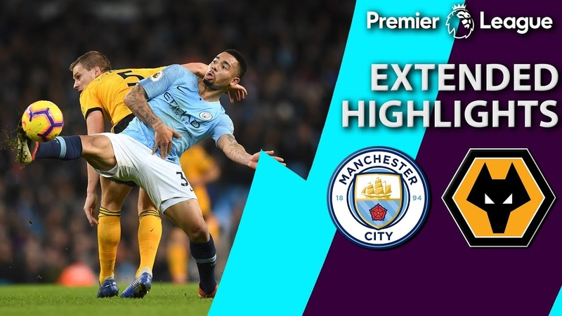 Man City v Wolves PREMIER LEAGUE EXTENDED HIGHLIGHTS 1 14 19 NBC Sports