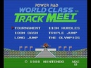 World Class Track Meet - Tournament and Olympics - Take On The NES Library 66