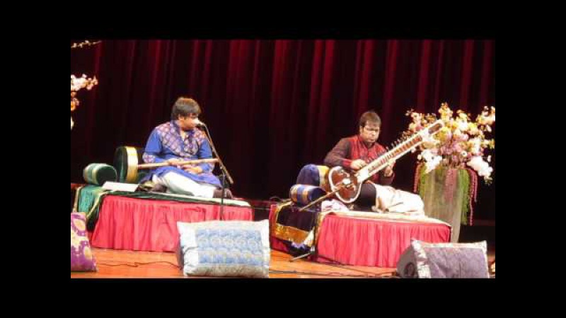 Shashank Subramanyam and Purbayan Chatterjee—Raga Shuddha Saveri/Durga Part 1 Alap