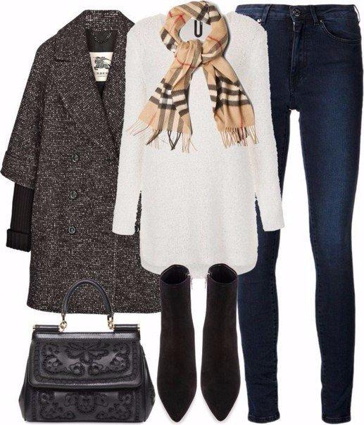 Модные стильные комплекты