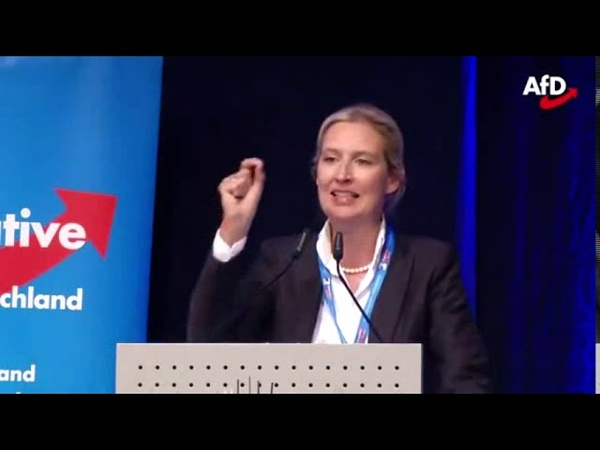 Fantastische Rede von Dr. Alice Weidel AfD : Die EU ist IRRSINN Pforzheim 03.05.2019