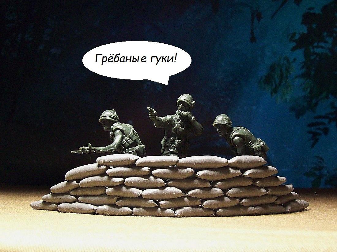 Видео - зарисовки с солдатиками 32 масштаба! FQBJKBDkVH4