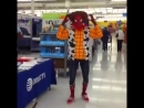 Ghetto Spider Dancing To Yodelling Walmart Kid Remix Song