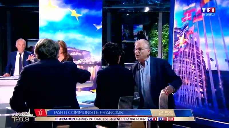 Daniel Cohn-Bendit est un représentant de la République en Marche et ne supporte pas qu'on le lui dise ! Dehors !