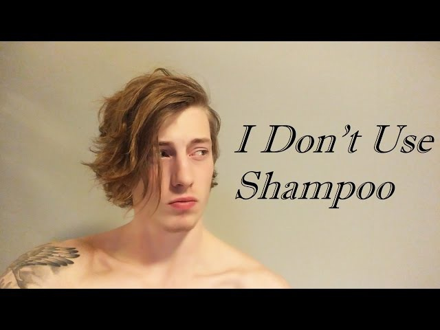 Men's Hair - I Don't Use Shampoo