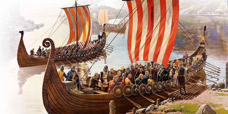 Норвежцы на кораблях