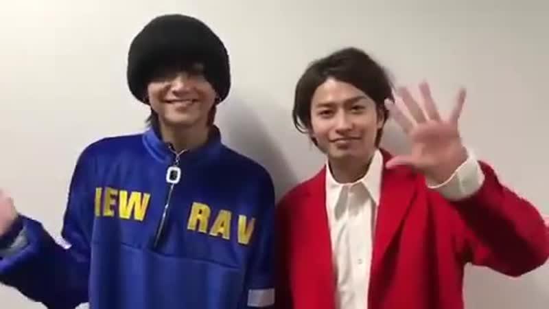 20180125 さしめし事前告知 三浦涼介・武田航平