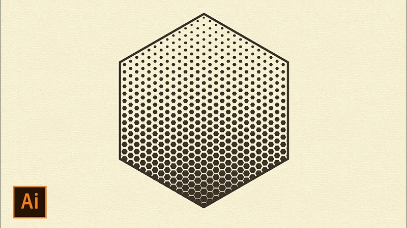 Geometric Halftone Tutorial   Adobe Illustrator