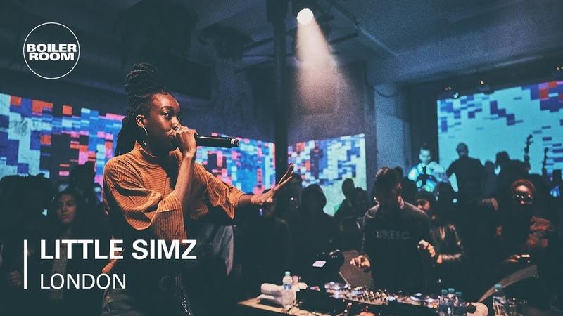 Little Simz UK Hip Hop Boiler Room x Land Rover Live For The City