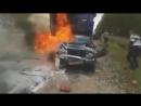 авария сгорел заживо