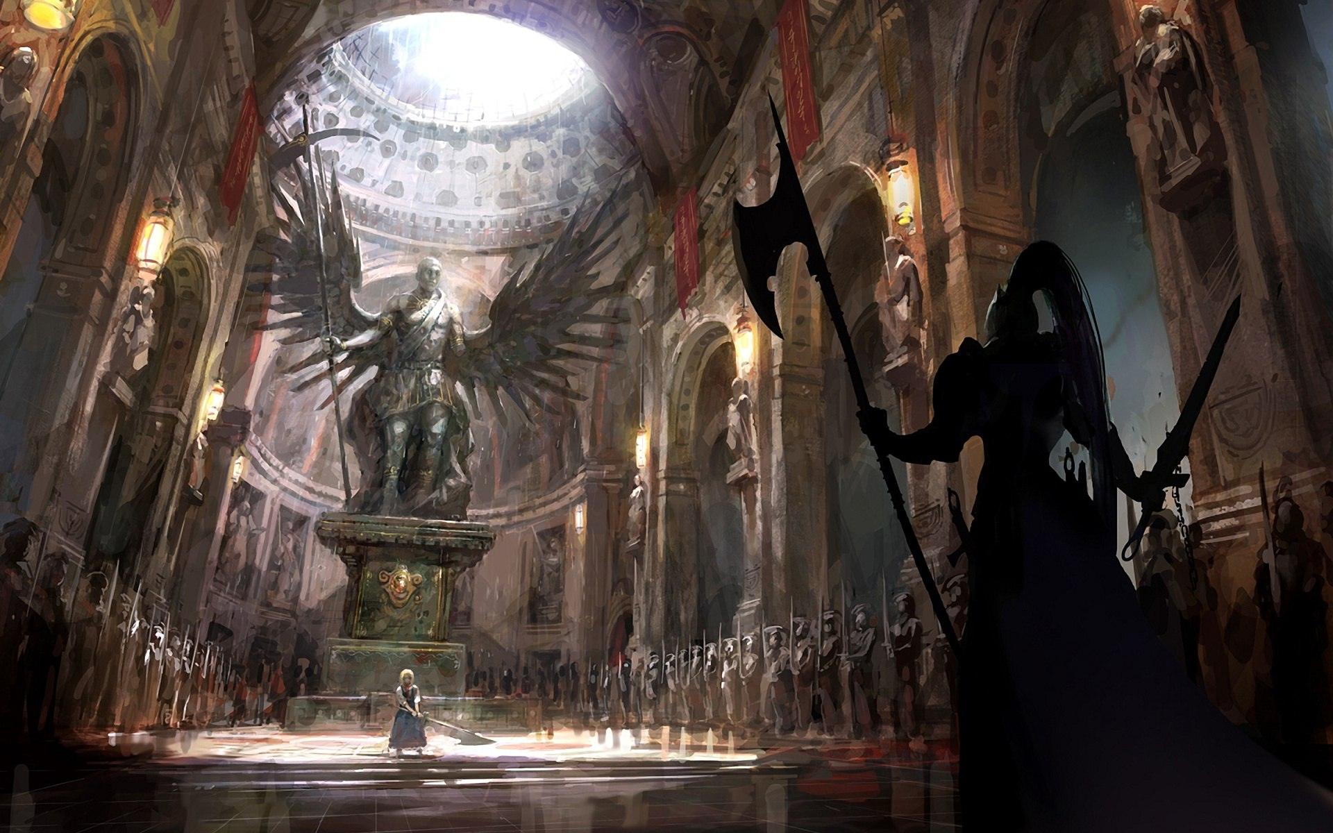 Dark Souls fan-art 5w4lk2HO60c