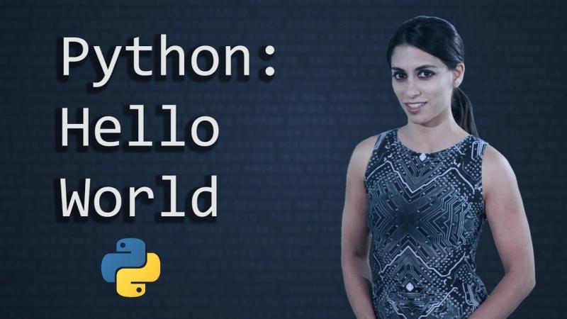 [Socratica] Hello World in Python || Python Tutorial || Python Programming