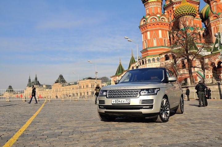 Range Rover Top Gear