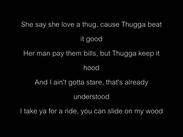Slim Thug - Thug [Lyrics]
