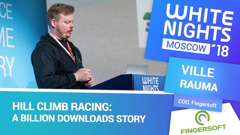 Ville Rauma (Fingersoft) - Hill Climb Racing a Billion Downloads Story