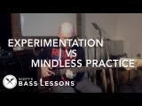 Experimentation Vs Mindless Practice /// Scott's Bass Lessons