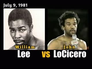 Уильям Ли–Джон Лосисеро (William Lee vs. John LoCicero) 09.07.1981