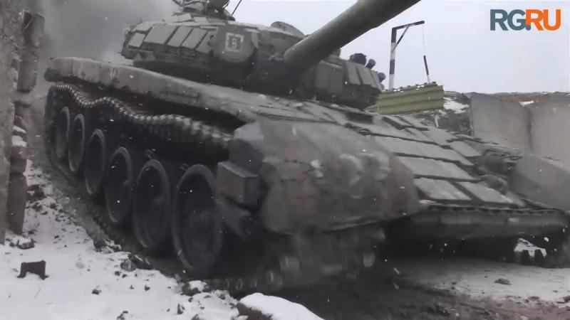 Танковые экипажи из Воронежской и Московской области готовятся к «Танковому биатлону»