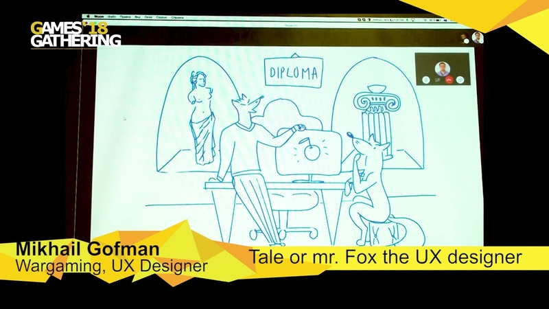 Mikhail Gofman Tale or Mr Fox the UX Designer
